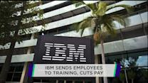 IBM cuts worker pay in exchange for mandatory training