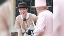 Is the royal nanny a real-life Mary Poppins?