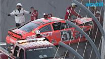 NASCAR Race Car Thieves Caught On Camera