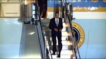 Raw Video: President Obama Arrives At SFO