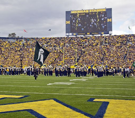 Michigan State uses beloved Michigan slogan to troll Wolverines (Photo)