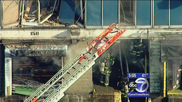 No injuries in fire at Hunts Point Market