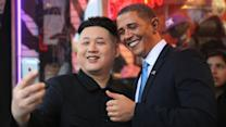 Barack Obama And Kim Jong-un Try To Crash The Oscars