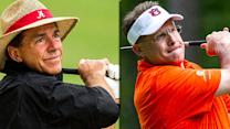 Saban, Spurrier, SEC Coaches' Golf Swings