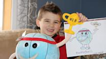 Stuffed animals designed by your kid