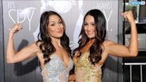 Total Divas' Nikki Bella Suffers Nip Slip While Defending Sister Brie Bella On WWE Raw