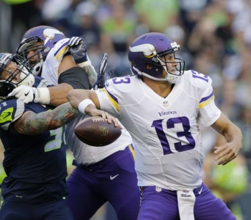 Shaun Hill takes over for Vikings, who don't have many good options