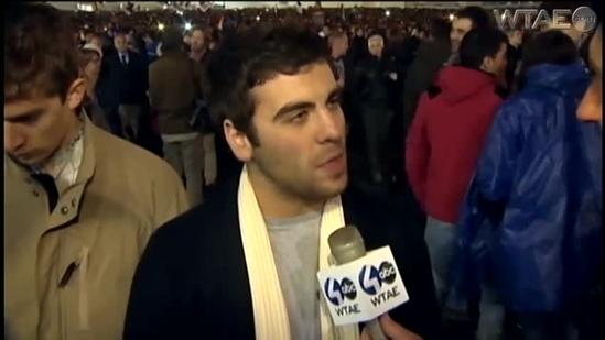 Mike Live from Rome: Duquesne Students Witness History