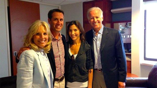 Delaware Attorney General Beau Biden back in the office