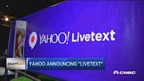 Yahoo announcing 'Livetext'