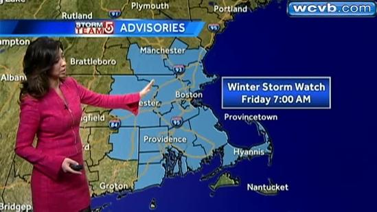 JC's latest Boston-area storm forecast