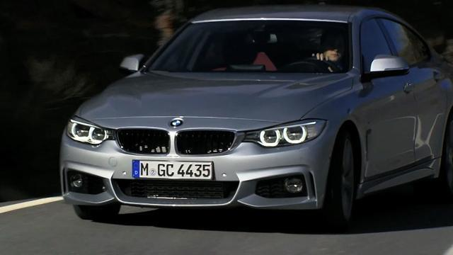 BMW reveals 4 Series Gran Coupe
