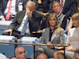 Sarah Huckabee Sanders says not to read into the photos of John Kelly looking distraught during Trump's UN speech