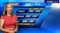Eileen's Saturday Forecast 6.1.13