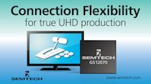 Semtech and Ross Video Bring True UHD Production into the Mainstream