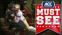 Florida State's Mario Edwards Jr. Gets Easy Interception | ACC See Moment