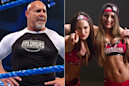 WWE SmackDown Results: Goldberg Spears The Fiend Bray Wyatt, The Bella Twins to Be Inducted into Hall of Fame