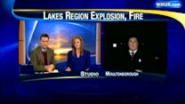 Explosion and fire level Moultonborough home