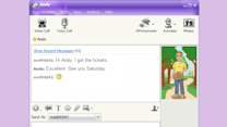 Chatting Through Instant Messages
