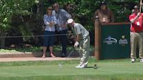 Sandy Lyle and Ian Woosnam capture the 36-hole lead at Bass Pro Shops Legends of Golf