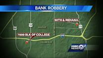 KC police arrest pair in connection with bank heist, chase