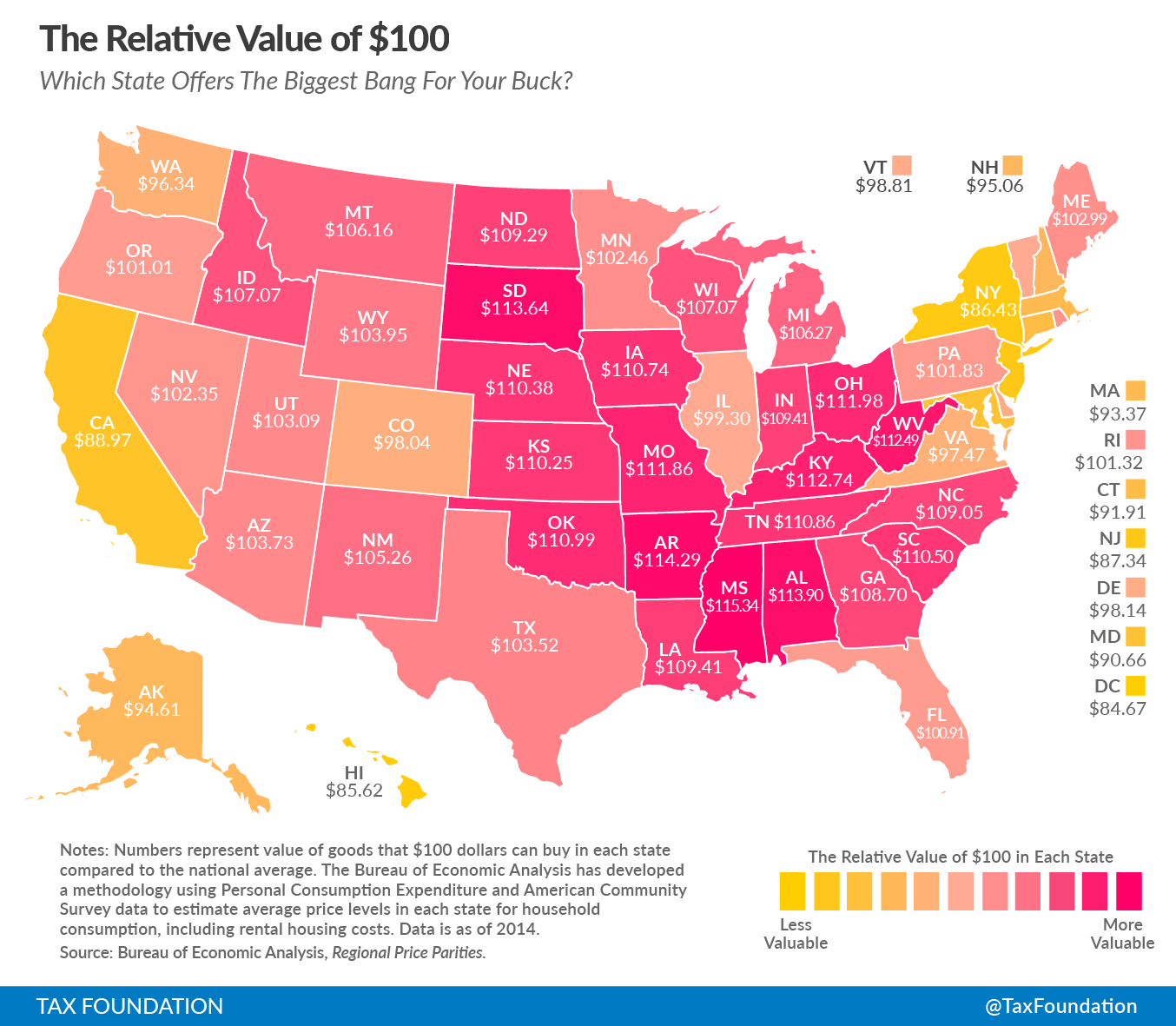 Depending on your state, $100 isn't worth $100