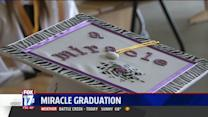 Teenager Hospitalized After Accident Gets to Walk at Graduation