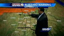Snow, windy conditions set to move through overnight