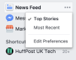 Like Getting Your News On Facebook? Here's How To Get Around The News Feed Changes