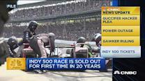 CNBC update: Indy 500 tickets