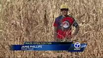 Maize Maze not lost to drought