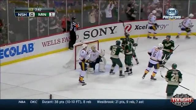 Nashville Predators at Minnesota Wild - 04/13/2014