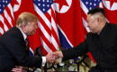 Officials say Trump overstated Kim's demand on sanctions
