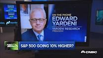 S&P 500 going 10% higher: Yardeni