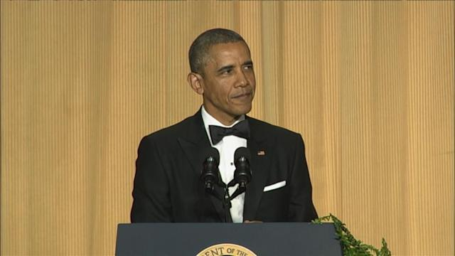 President Obama Offers Up Laughs at the White House Correspondents' Dinner