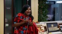 The Mindy Project: Mindy's New Coworker Peter Insults Her Boobs