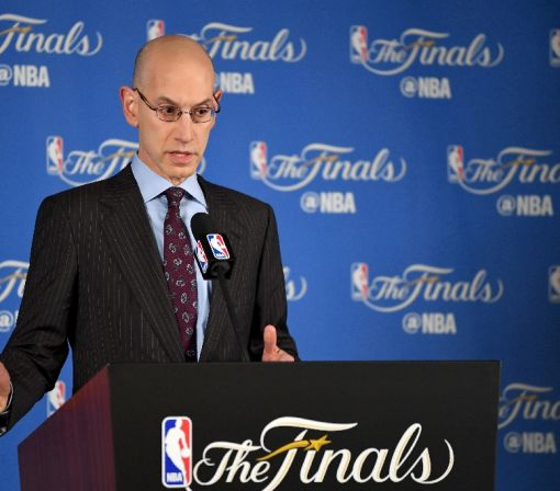 Adam Silver doesn't love the 1+1 deals signed by LeBron and Durant