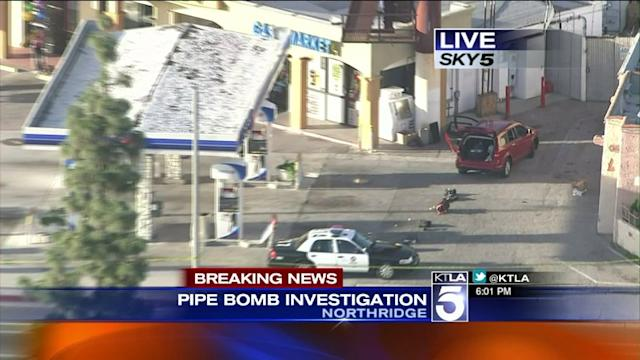 Pipe Bomb in Northridge Area Prompts Evacuations, Bomb Squad Response
