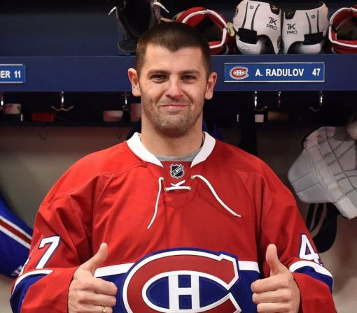 Older, wiser Alexander Radulov sees Stanley Cup potential with Montreal Canadiens