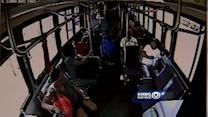 Graphic video: Surveillance camera catches bus shooting