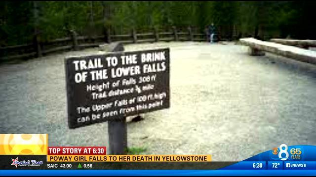 Poway girl falls to her death in Yellowstone