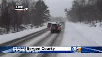 Snow And Ice Create Dangerous Conditions For Evening Commute