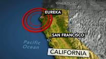 Powerful earthquake hits off coast of Northern California