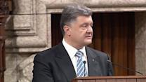 "Ukraine pays ""high price"" for beliefs-Poroshenko"