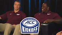 Virginia Tech's Willie Byrn & Luther Maddy Preview 2014 Season | #ACCkickoff