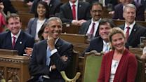 Canadian Lawmakers Chant 'Four More Years' to Obama