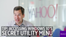 Pogue's Basics: The secret Start menu in Windows 10