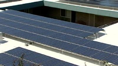 Newly Installed Solar Panels Hailed As Milestone