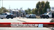Bomb Squad Investigating Suspicious Object Left On Railcar Near McClellan Airfield