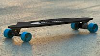 'Smart' skateboard speeds up the daily commute